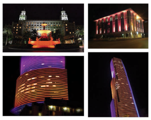 South Florida Buildings Going Orange for Hunger Action Month.
