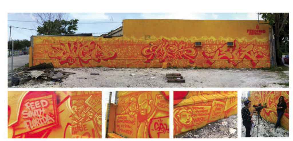 Feeding South Florida's Wynnwood Wall