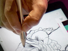 DRAWING THE LINE BETWEEN PENCIL AND INK