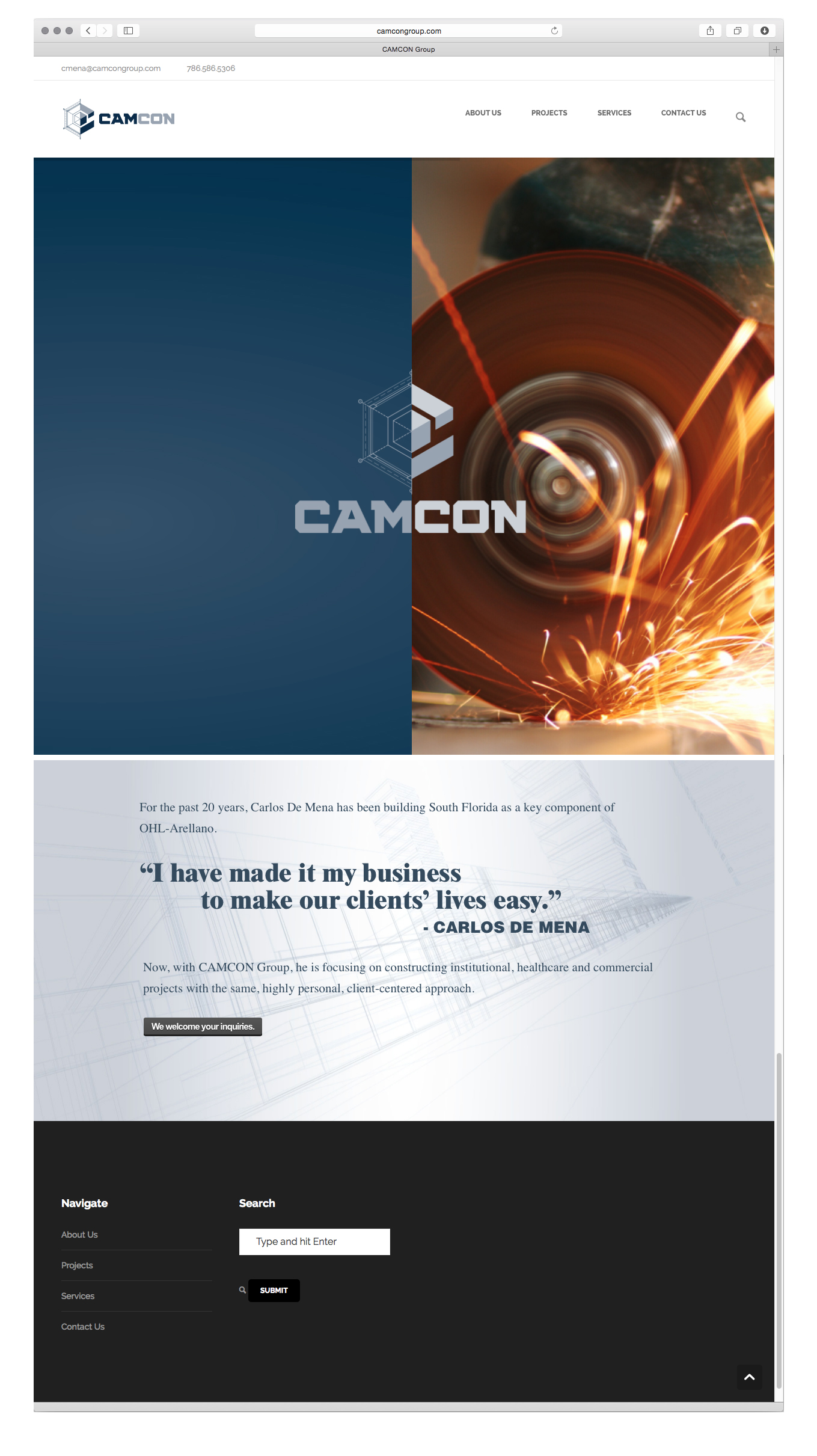 Camcon_homepage